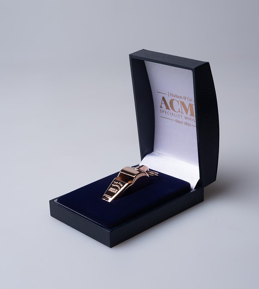 Acme Thunderer (Referee/Coach) Whistle 60.5 Small Rose Gold