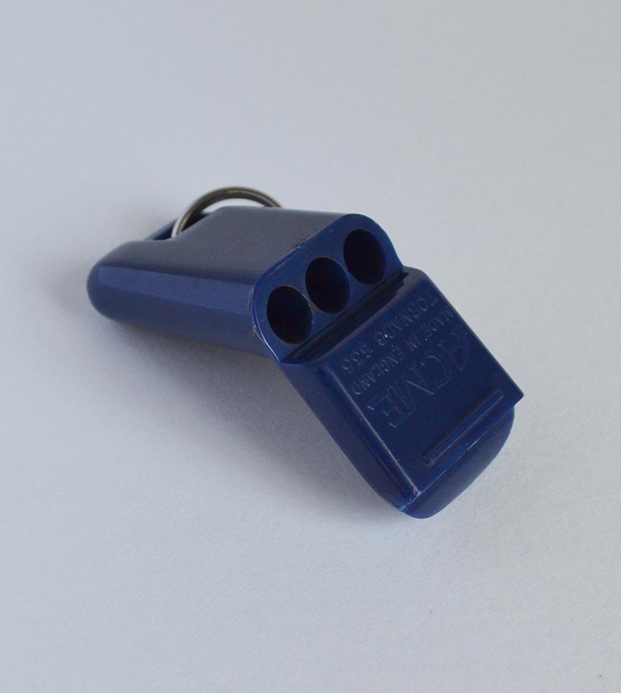 Acme Tornado 635 Medium Pealess Whistle Blue