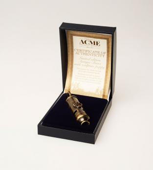 Acme Metropolitan (Bobby) PEACE Whistle 15PW Antique Brass