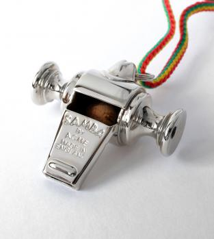 Acme Metal Samba Carnival Whistle 444