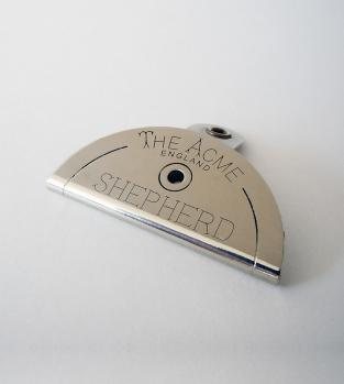 Acme Dog Whistle 575 - Shepherd Mouth Whistle Nickel Silver