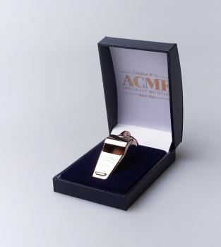 Acme Thunderer (Referee/Coach) Whistle 58.5 Large Rose Gold