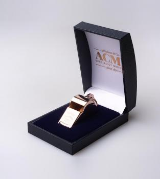 Acme Thunderer (Referee/Coach) Whistle 58 Square Mouthpiece Rose Gold