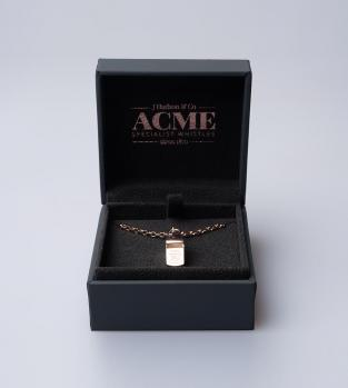 Acme Miniature Whistle Necklace - Rose Gold
