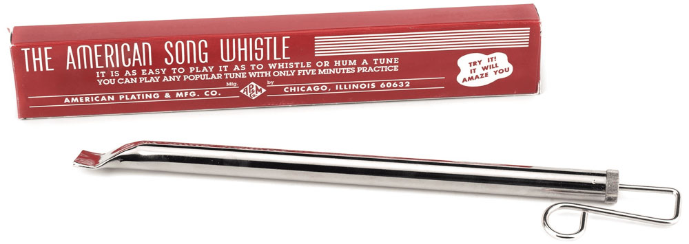 The American Song/Slide Whistle by American Plating & Mfg Co.